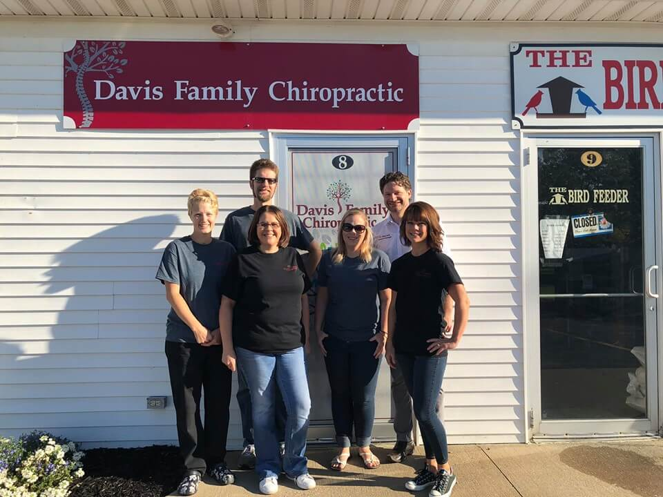The crew at Davis Family Chiropractic
